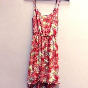 $15 w/bundle Lush Dress Backless High-Low Boho